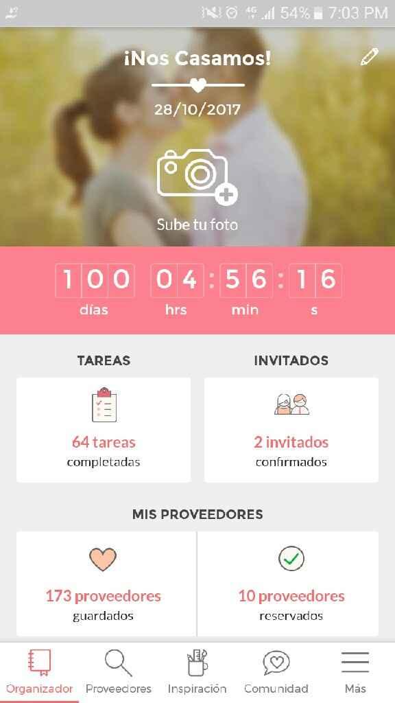100 dias!!! que nervios!! - 1