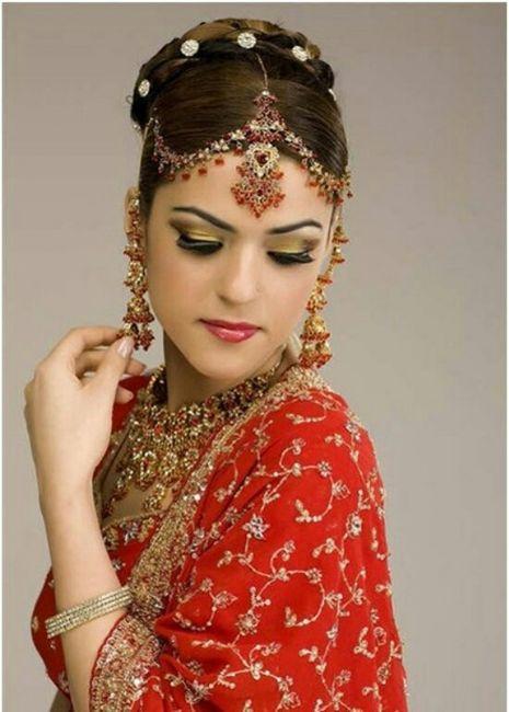 Peinados para boda hindu