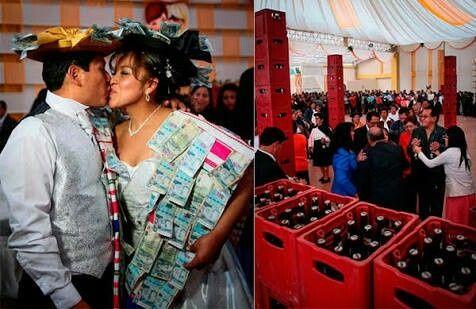 Alguien oyó solo la costumbre de la palpa? a propósito de las bodas en huancayo y alrededores...curi