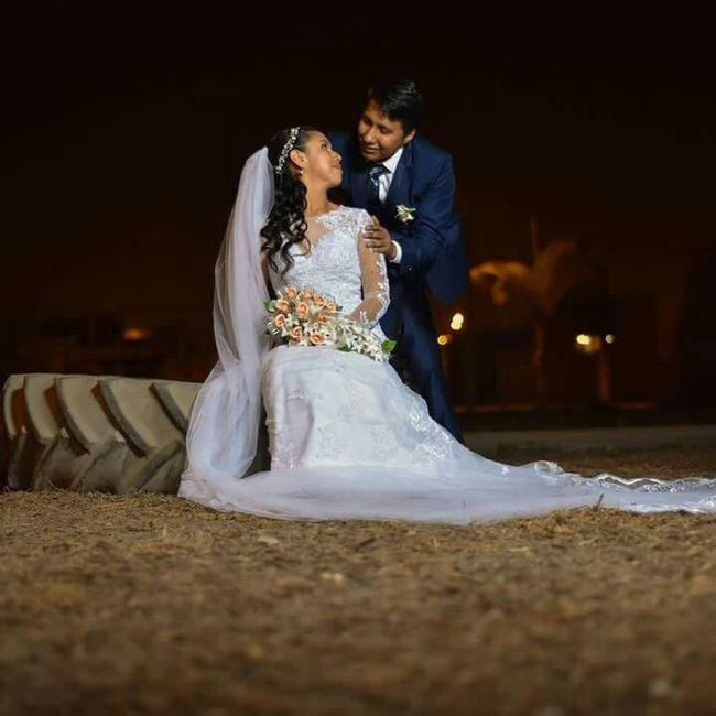 Nuestro segundo mes de casados... j & r 2