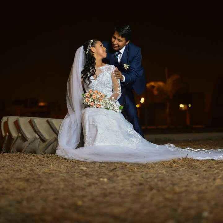 Nuestro segundo mes de casados... j & r - 2