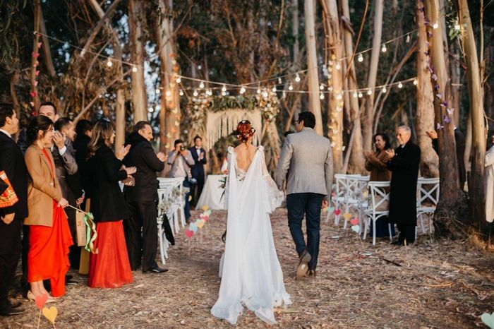 vestido boda civil - flores ♥ 10