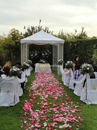 decoración para el matrimonio civil