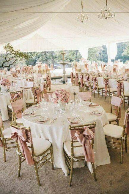 Boda en tonos rosa  golf 6
