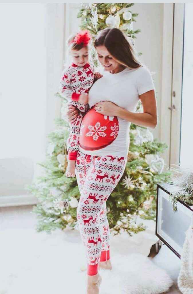 Futuras mamitas sesión de fotos de navidad - 6