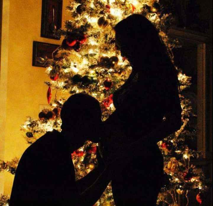 Futuras mamitas sesión de fotos de navidad - 9