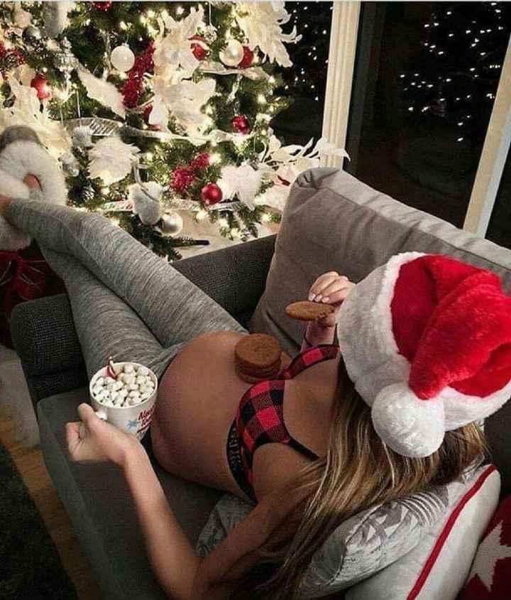 Futuras mamitas sesión de fotos de navidad - 12