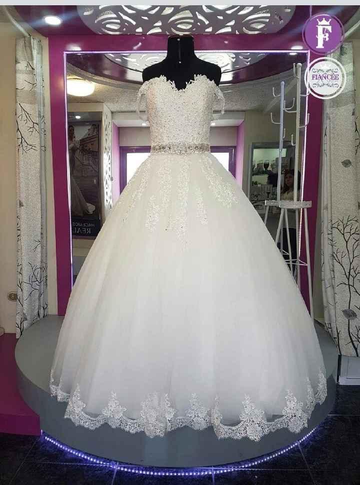 Mi vestido principal de novia - 2