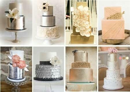 decoración de una boda en dorado y blanco