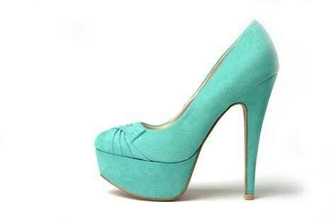 Zapato turquesa - 1