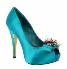 Zapato turquesa - 3