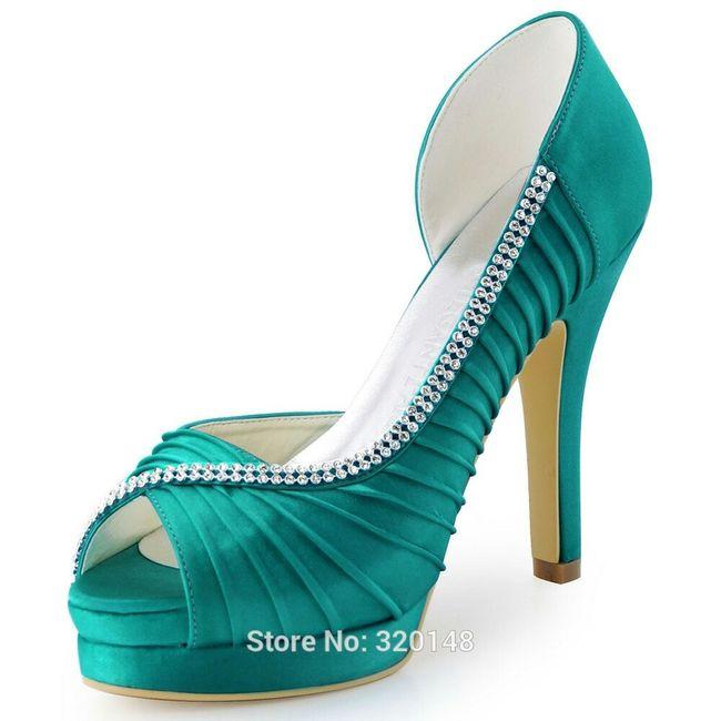 Zapato turquesa - 4