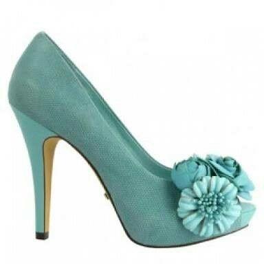 Zapato turquesa - 5