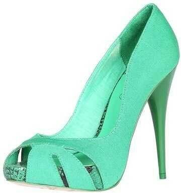 Zapato turquesa - 6
