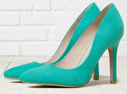 Zapato turquesa - 7