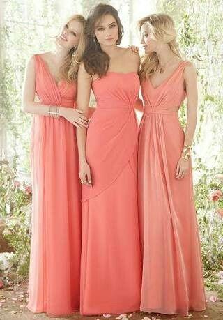 Vestidos Largos Coral