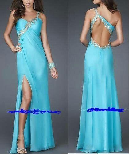Vestidos novia azul turquesa