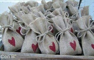 Bolsitas de arroz para bodas - 2