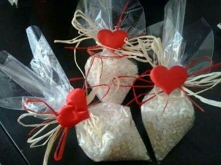 Bolsitas de arroz para bodas - 4