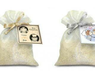 Bolsitas de arroz para bodas - 9