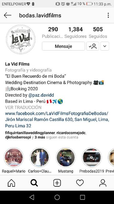 Nro de fotógrafos y videogragos - 1