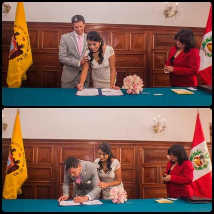 Matrimonio civil en la Municipalidad de Magdalena - 1