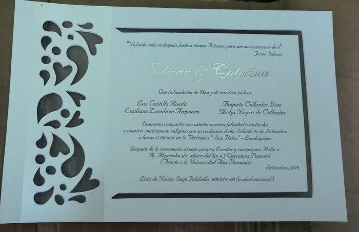 Mis invitaciones! 🥰 4