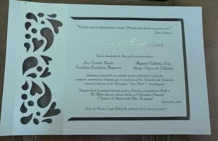 Mis invitaciones! 🥰 - 4