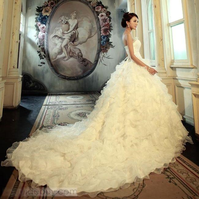 e8b1cc2d7 Tipos de cola de vestidos de novia - Página 2