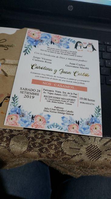 Mi invitación de matrimonio 1