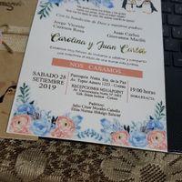Mi invitación de matrimonio - 1