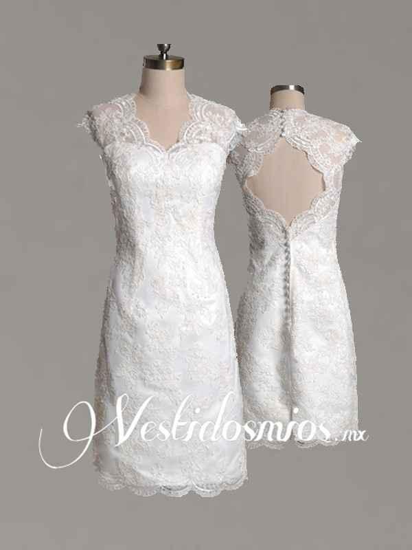 traje boda civil
