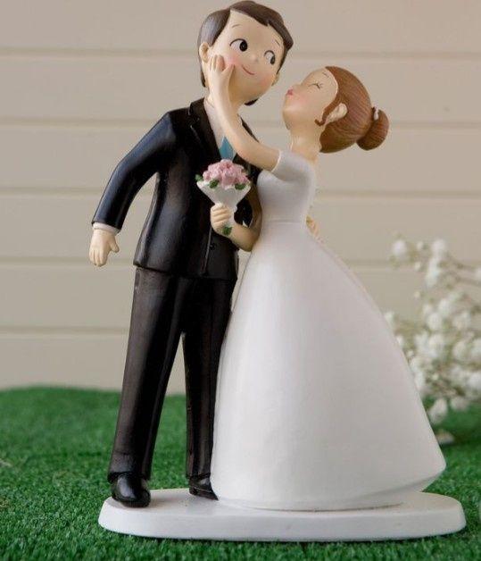 Diseño de novios originales para la torta de bodas 4