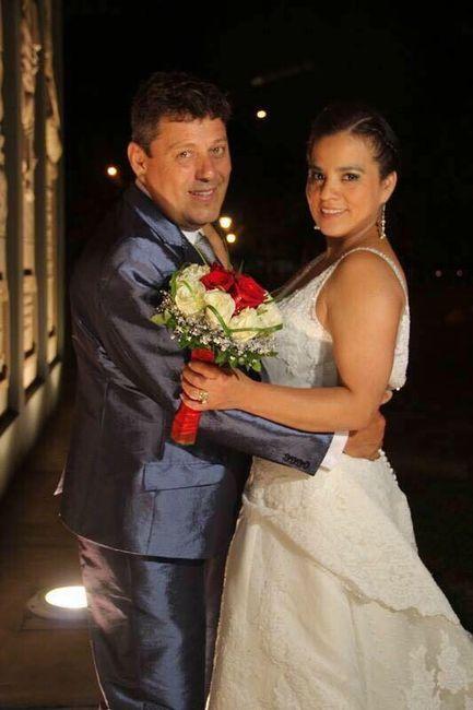 Novias que organizan matrimonio a distancia <img class=
