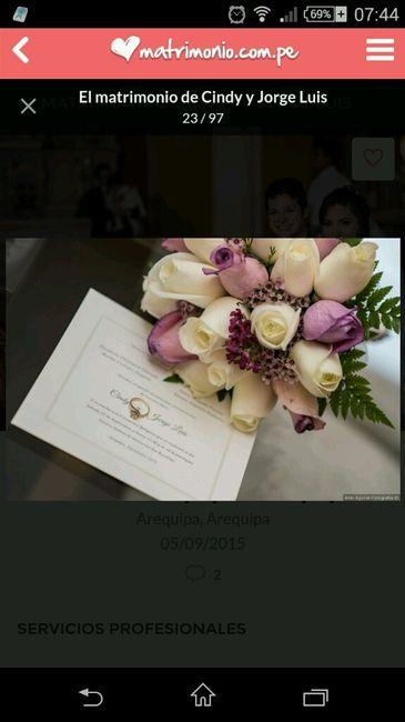 Slam: matrimonio.com.pe:  Cómo es o cómo te gustaría que fuera tu bouquet te novia? - 1