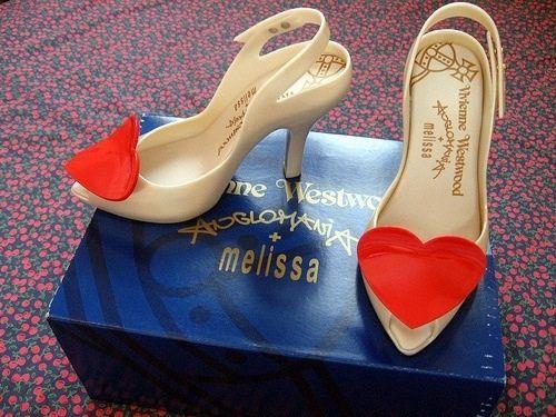 Zapatos corazón Melissa-Viviene Westwood 1