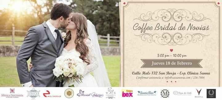 Evento: coffee bridal de novias - 1