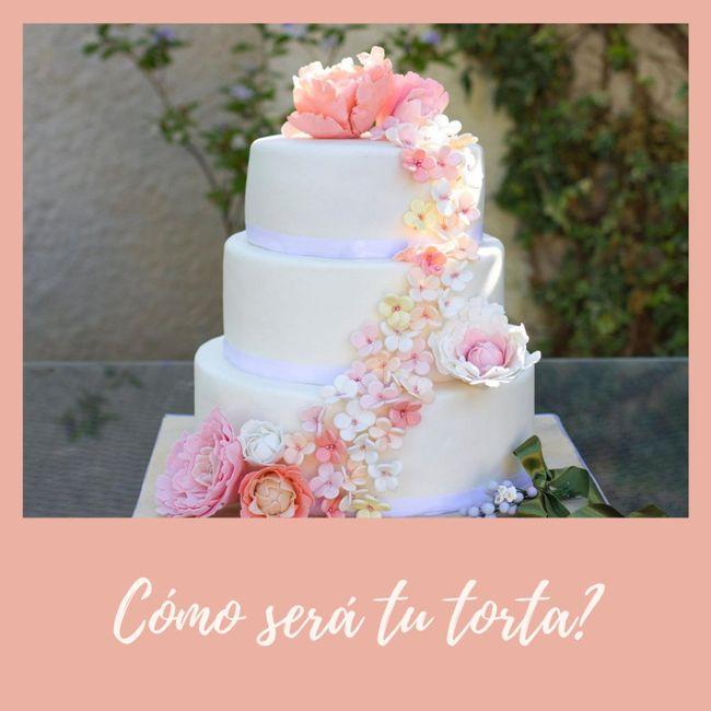 ¿Cómo será tu torta de boda? 1