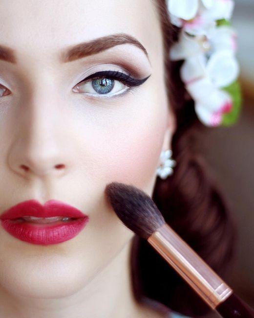 4 novias, 4 estilos - El maquillaje 1