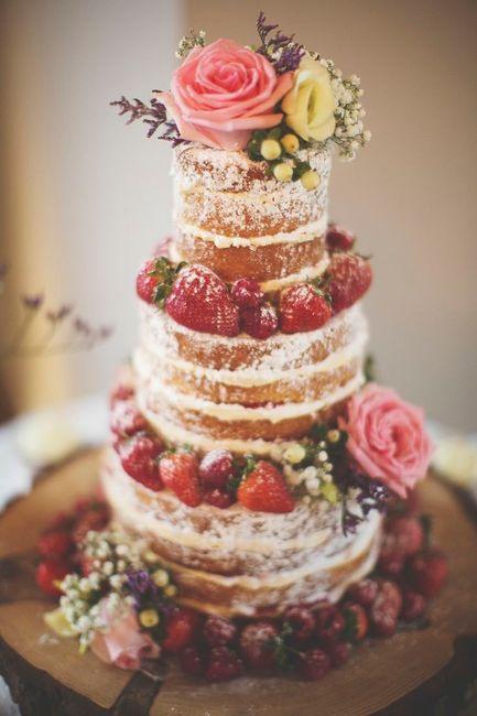 4 novias, 4 estilos - La torta 1