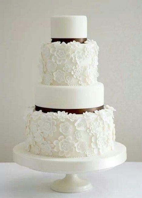 4 novias, 4 estilos - La torta 4