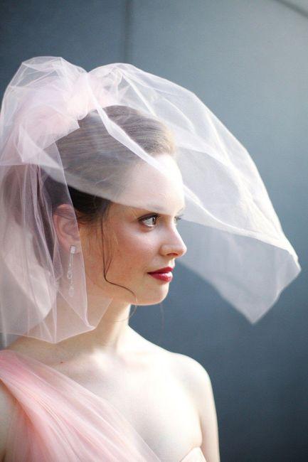 Confecciona tu vestido: ¡Elige el velo! 2