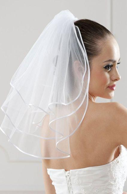 Confecciona tu vestido: ¡Elige el velo! 3