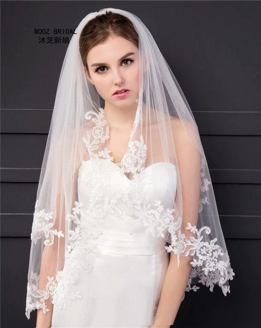 Confecciona tu vestido: ¡Elige el velo! 4