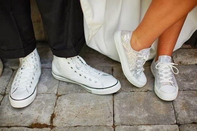 ¿Zapatos converse para novias  👟 7243789fe176