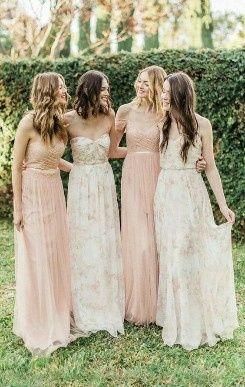 ¡Vestidos de damas de colores pasteles! ¿Cuál eliges? 🌈🌸 3