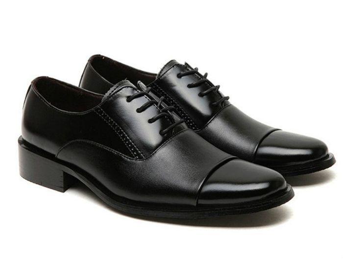¡Viste a tu novio según el estilo de tu boda! Los zapatos 3