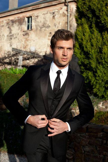 ¡Viste a tu novio según el estilo de tu boda! La corbata 2