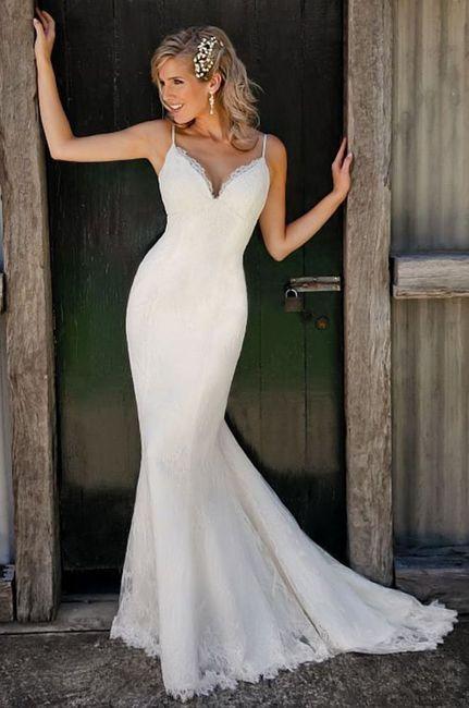 👗 Vestidos para una novia romántica ¡Corte Sirena! 1