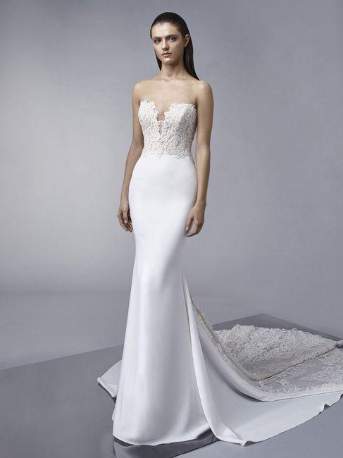 👗 Vestidos para una novia romántica ¡Corte Sirena! 2